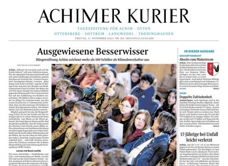 Achimer kreiszeitung online dating